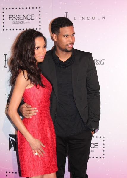 Jurnee Smollet looks age-appropriate and youthful in her knee-length red dress, Essence Black Women in Music