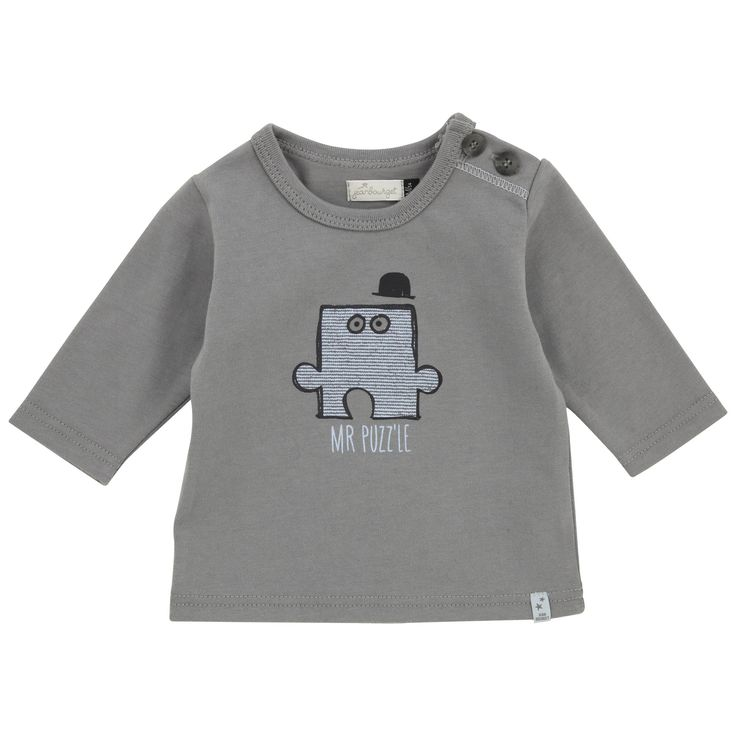 Jean Bourget Baby T shirt (Baby Bleu)
