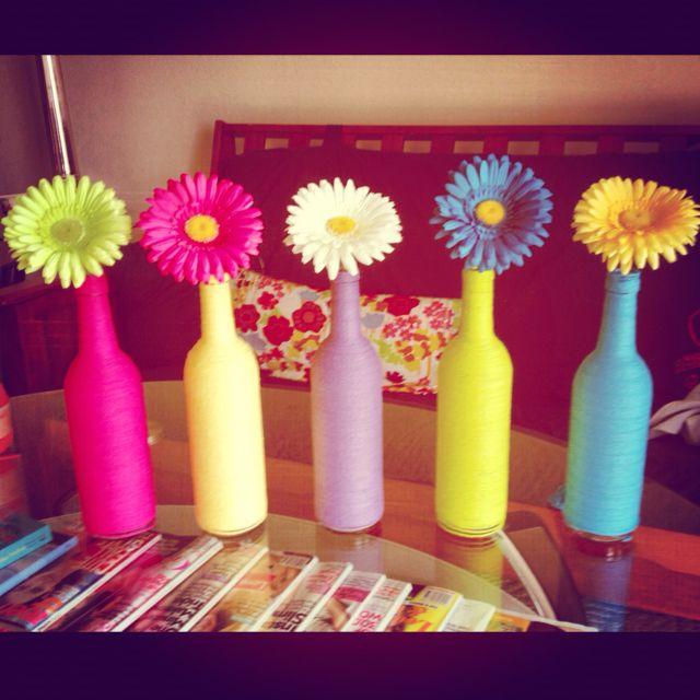 Wine Themed Kitchen Paint Ideas: 25+ Best Ideas About Wine Bottle Vases On Pinterest