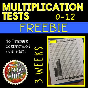FREE Multiplication Test Kit: (FIRST 3 WEEKS)