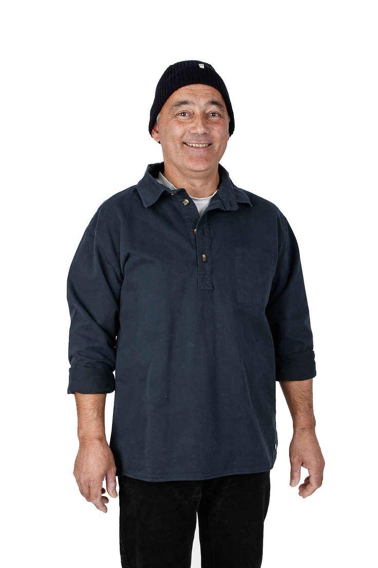 EM Fiskarskjorta/Bussarong Navy