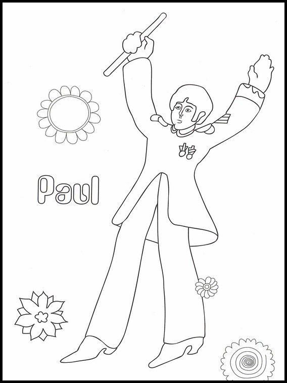 The Beatles 8 Dibujos Para Colorear Dibujos Para Imprimir Y Pintar Dibujos Para Colorear Dibujos Imprimir Dibujos Para Colorear