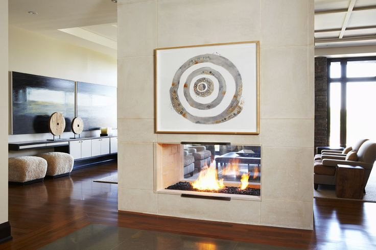 41 best images about warm me up on pinterest fireplaces craftsman houses and tuxedos - Contemporary fireplace insert for a warm living room ...
