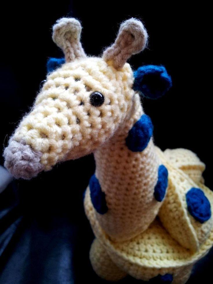 Amigurumi Puzzle Animals : Crochet Giraffe Puzzle Pattern Amigurumi / DIY Toys ...