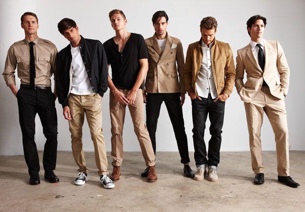 khaki kidsBlack Style, Men Clothing, Colors Combos, Guys Style, Colors Palettes, Men Fashion, Colors Schemes, Style Guide, Men Apparel