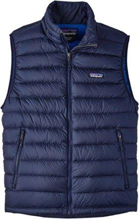 Patagonia Men's Down Sweater Vest Navy Blue/Navy Blue XXL