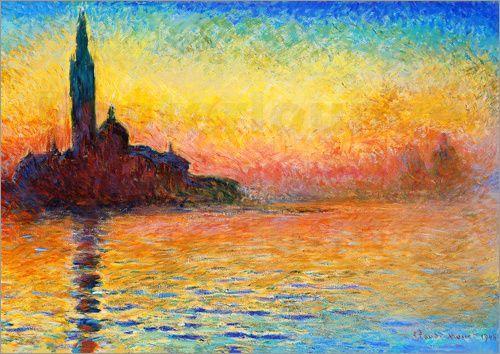 Claude Monet - S.Giorgio Maggiore