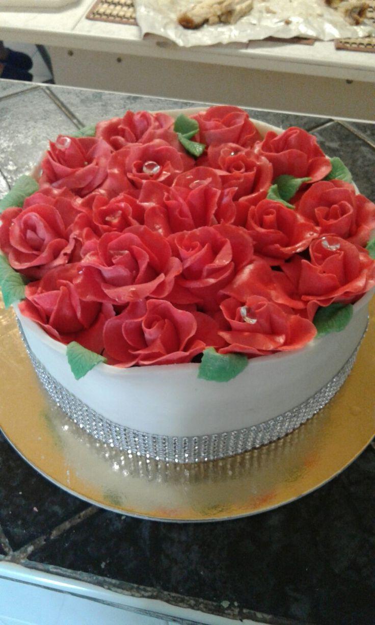 Roses box torta