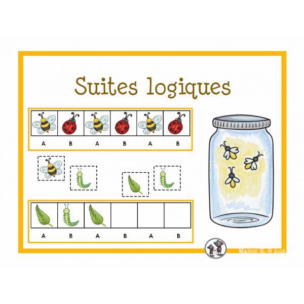 Suites logiques (les petites bestioles)