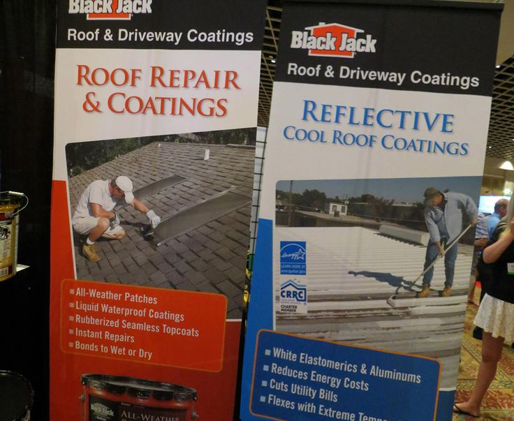 Black Jack Banner Stands At The Florida Roofing U0026 Sheet Metal Expo In  Orlando!
