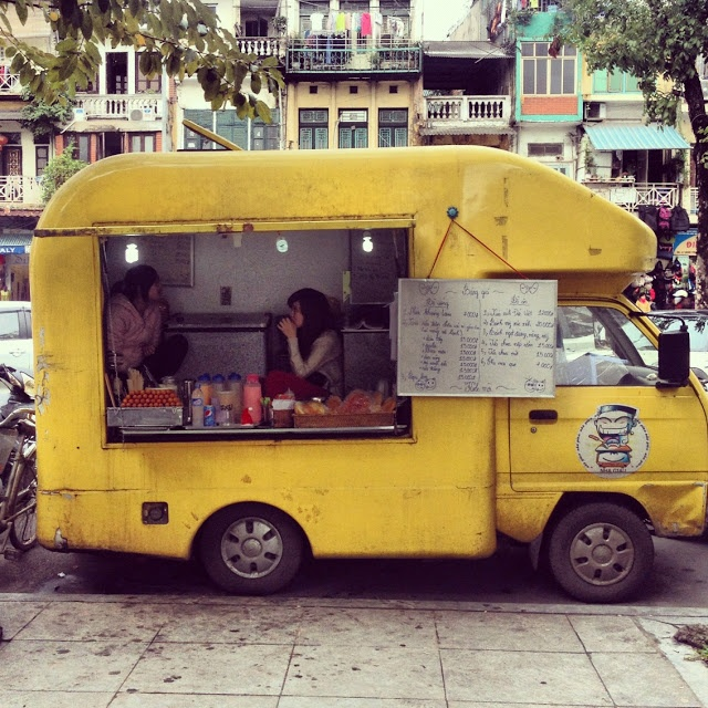 My little Schlaraffenland: Street Food Tour durch Hanoi