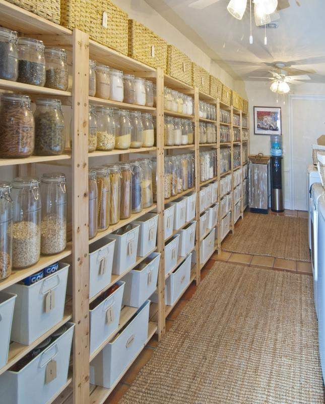 Pantry Storage Idea: 25+ Best Ideas About Food Storage Containers On Pinterest