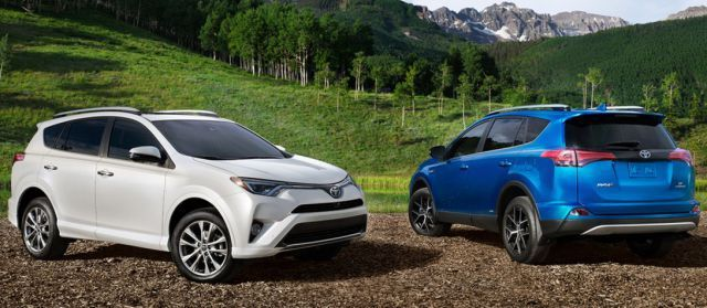 2018 Toyota Rav4 Hybrid Side Best Suvs Toyota Toyota Rav4
