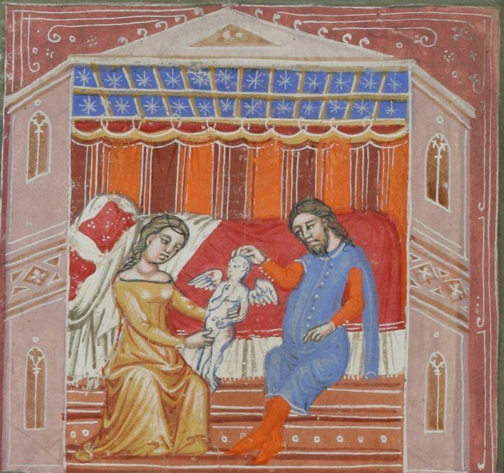 Guido de Columnis, Historia destructionis Troiae, Venice,  Cologny, Fondation Martin Bodmer, Cod. Bodmer 78, Italy, Venice, about 1370, 5v  http://www.e-codices.unifr.ch/en/fmb/cb-0078/87r/0/Sequence-828