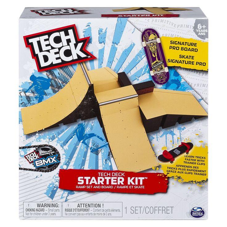 Tech Deck Primitive Starter Kit Ramp Set and FingerBoard