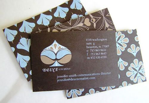 Business Card with Pattern Design 21