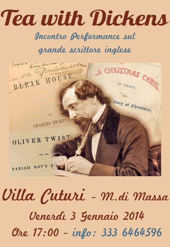 Tea with Dickens Marina di Massa Venerdì 3 Gennaio 2014
