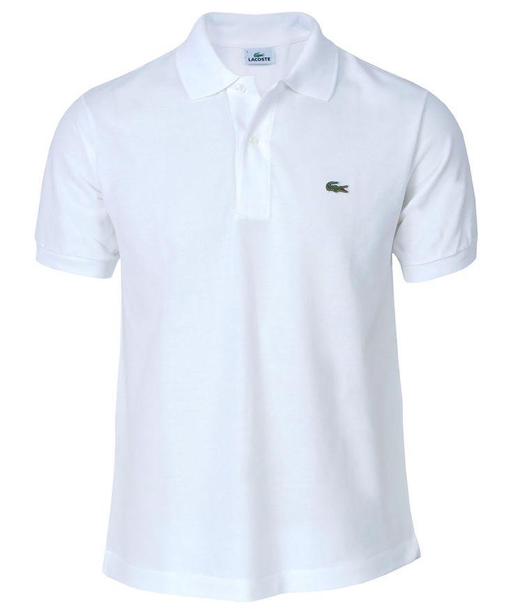 Lacoste Classic Plain Pique Polo Shirt White Lacoste Classic Plain Pique Polo Shirt White http://www.comparestoreprices.co.uk/golf-equipment/lacoste-classic-plain-pique-polo-shirt-white.asp