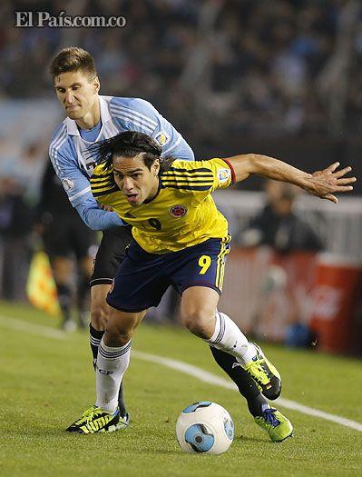 Falcao un guerrero contra Argentina