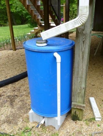 How to make a rain barrel from a 55 gallon drum... need to do this before next years summer drought season.