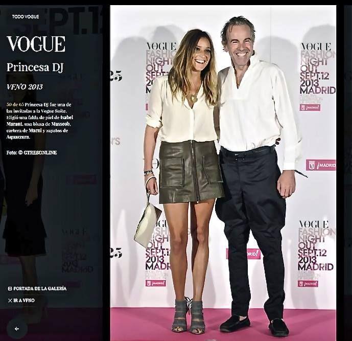 Carlos mundy & Princess Scilla