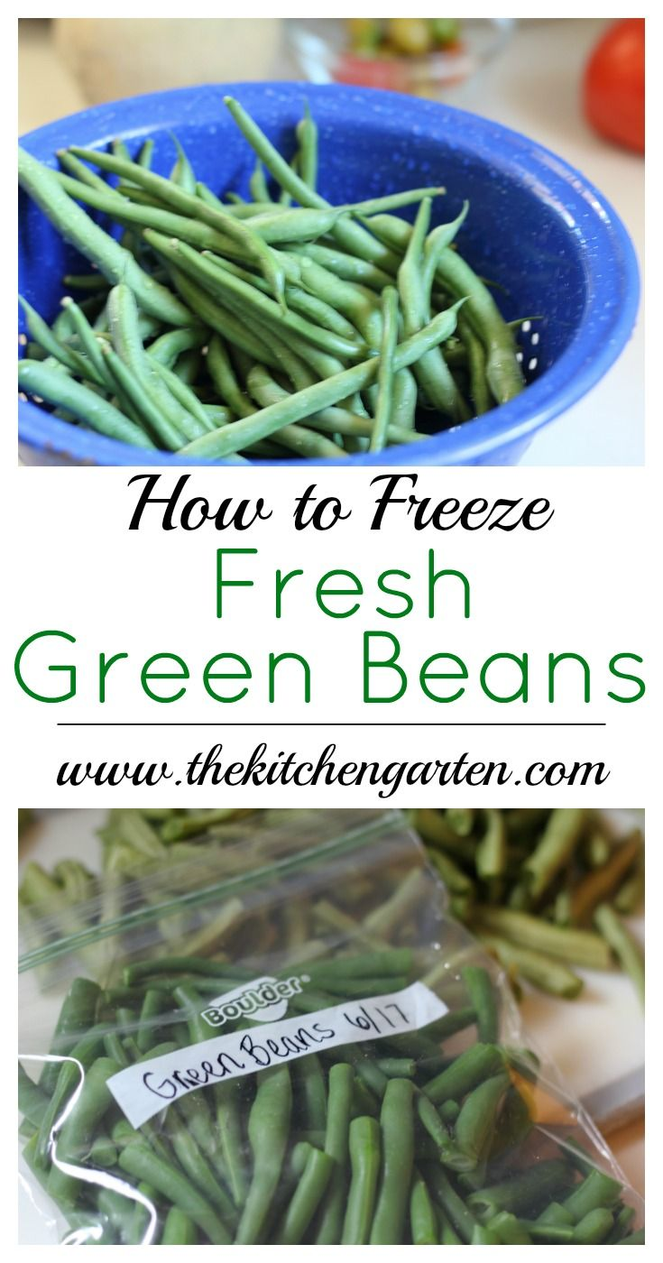 Freeze fresh green beans quickly and easily to use later. Whether you're growing beans in the garden, or buying at the Farmer's Market, anyone can do it! via @cpjsouthern