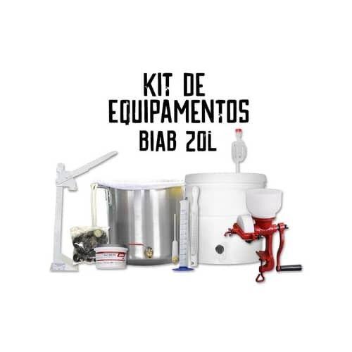 Kit Equipamentos Para Produção Com Biab - Brew In A Bag - 20 Litros