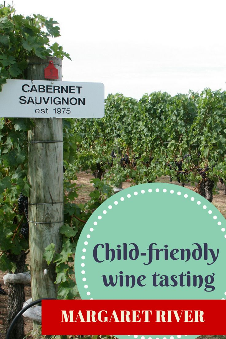 The best wineries in the Margaret River, Australia to visit with kids.