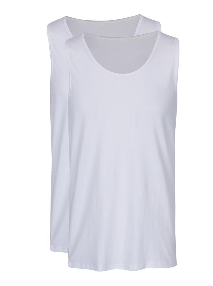 Typ:súprava dvoch pánskych tielok pod košeľu s okrúhlym výstrihom Farba:biela Materiál:100 % bavlna Vlastnosti...