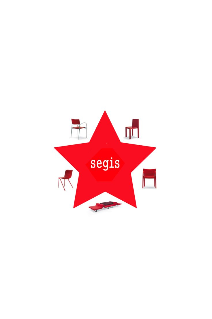 Top Segis furniture: Breeze, Uno, PoppyStar, Highway and Dragonfly.