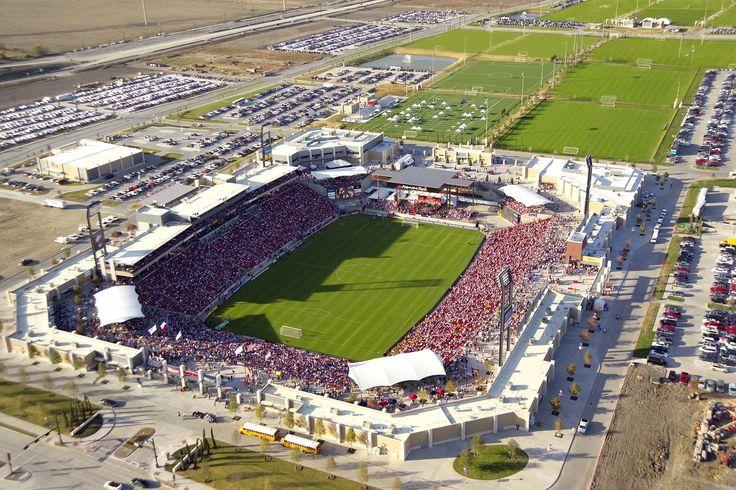 Toyota Stadium in Frisco, TX