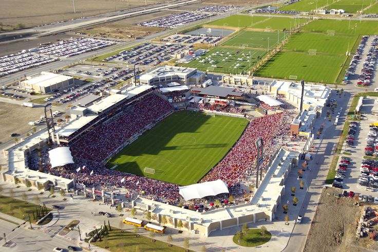 Toyota Stadium in Frisco, TX