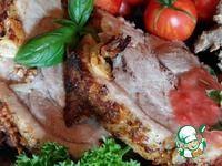 Свинина, запеченная в аджике ингредиенты