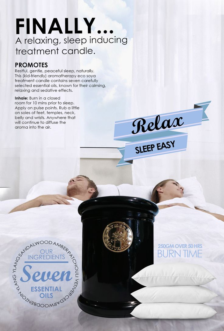 Surmanti Eco Soya Pulse Point Candle - Relax Sleep Easy