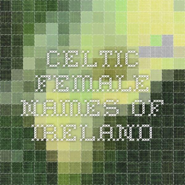 Celtic Female Names of Ireland