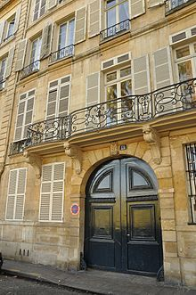 One of Camille Claudel's residences.