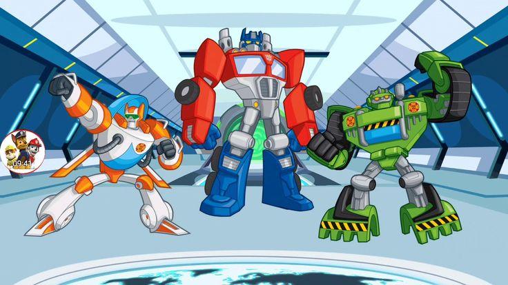 Transformers Rescue Bots: Disaster Dash - Hero Run - Gameplay Android Part 03 ❀ Fun Kids Games