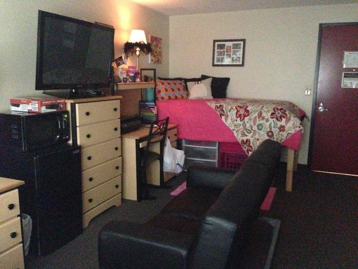 Dorm room room University of Louisville