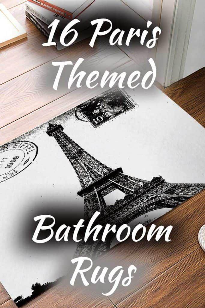 16 Paris Themed Bathroom Rugs Ooh La La Paris Theme Bathroom
