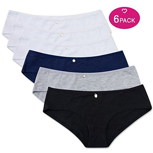 cb5cccc41 Lea by Lili Pink Girls and Women Lili Pink Basic Brief Underwear Multipack