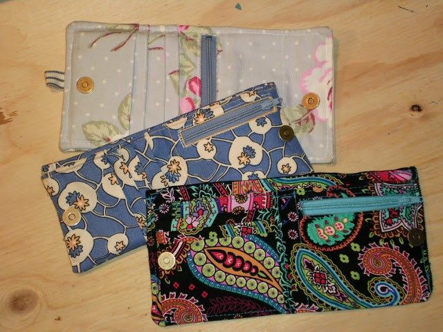 Finished wallet and prototypes
