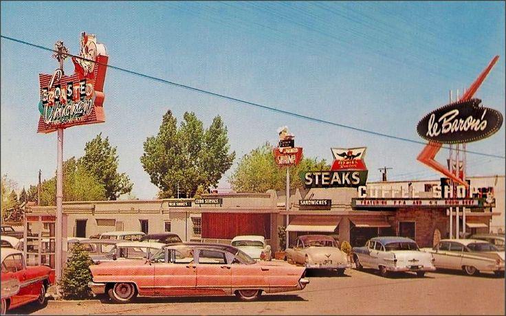 1950s Unlimited - LeBaron's Coffee Shop, 1950s Idaho Falls, Idaho