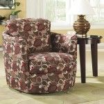 Coaster Furniture - Accent Seating Swivel Upholstered Chair - 900406