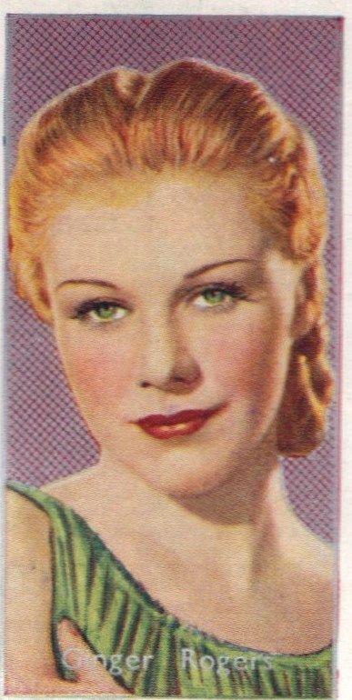 Ginger Rogers, tawny spring/ the maverick