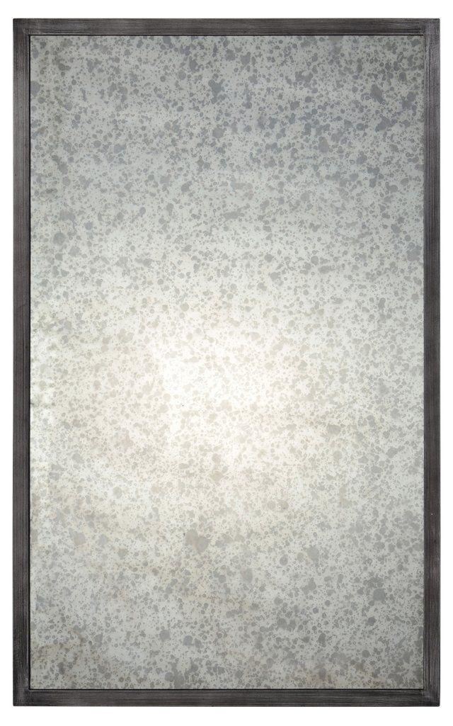 Randall Wall Mirror, Antiqued Gray
