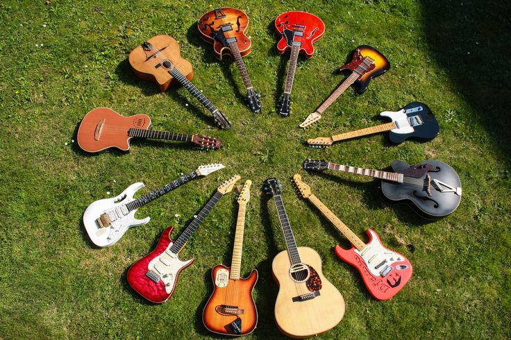 Some of my guitars