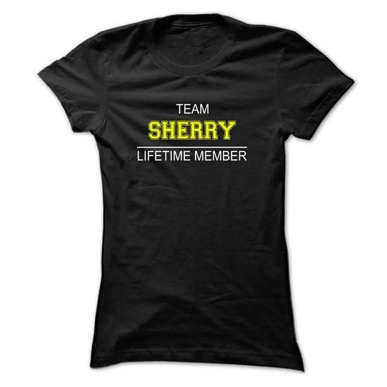 Team SHERRY Lifetime member - #white tee #hoodie outfit. BUY IT => https://www.sunfrog.com/Names/Team-SHERRY-Lifetime-member-eycsv-Ladies.html?68278