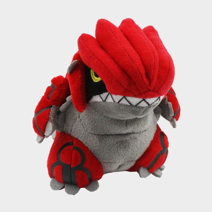 Free Shipping 1pc New Arrival 14cm Pokemon Omega Ruby Groudon Stuffed Animal Plush Doll Soft Toys With Tag