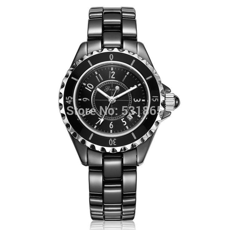 Грейди часы дамской одежды роскошные часы керамические часы женщина часы кварцевые наручные часы бесплатная доставка