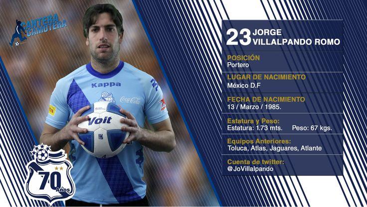 #23 Jorge Villalpando